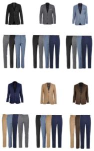 Сочетание цветов одежды